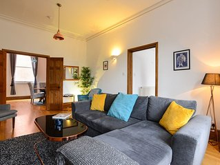 Stunning, Spacious, Grade II Listed Apartment with Free Parking