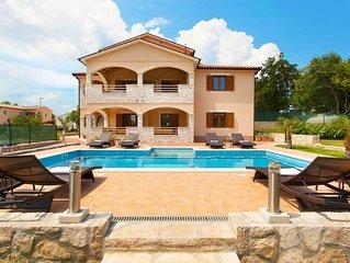 Beautiful modern villa in a small village near the sea