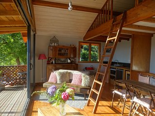 Gite Colombe des bois - close to Aspet in the Pyrenees