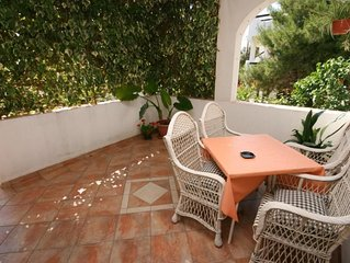 One bedroom apartment with terrace Mandre (Pag) (A-523-a)
