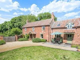 Detached Listed Grade 2  House with enclosed walled garden