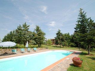 Villa Merse in Monticiano