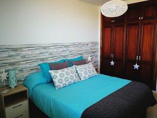 Apartamento Bajamar. Piscina. 5min. de la playa.
