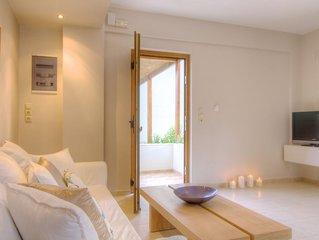 Gasparakis villas, Lida villa with private pool and garden. COCO-MAT mattress