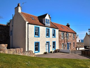 A beautiful 4 bedroomed house next to the harbour with fabulous gardens