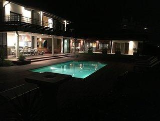 Villa style californienne face océan et foret Landaise