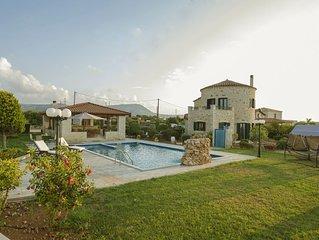 Villa Voula Hersonisos Crete! (Pool Jacuzzi)!
