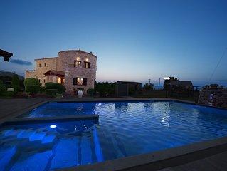 Villa Voula Hersonisos Crete (pool jacuzzi)