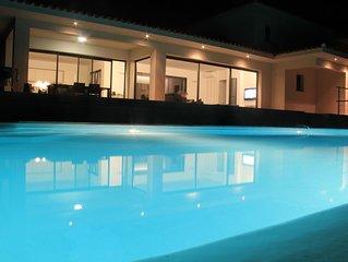Villa d'architecte  - vue exceptionnelle sur les Sanguinaires & Golfe d'Ajaccio