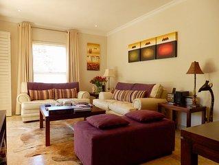 Luxury ground floor apartment with outdoor pool in Franschhoek