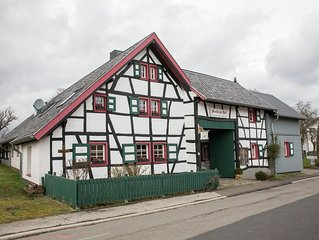 cozy apartment near monschau, great location for hikes through natur park Eifel