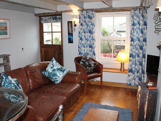 Sky Cottage, characterful fisherman's cottage in friendly village with great pub