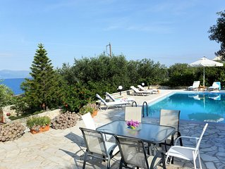 Villa Ilios, Paxos - 3 bedrooms with private pool & Wi-Fi !!!