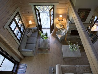 Amazing two-storey wooden villa, Villa Victory