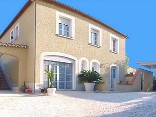 Luxueux appartement independant terrasse panoramique 1er. etage tres belle villa