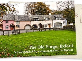 The Old Forge - Two Bedroom Cottage in the very Heart of Exmoor (Pet Friendly)