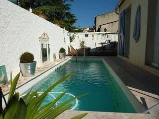 Villa de charme de 4 pièces avec piscine à 10 min du centre ville