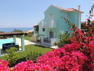 Villa Hara - 4 Bed Villa, Large Pool, Fabulous Sea and Mountain Views Free WiFi