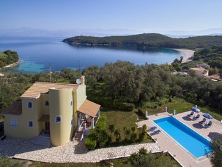 VILLA ILIANA is private with swimming pool and beautiful view.