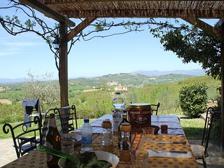 REDUCTION DUE TO CANCELLATION - House with Private Pool & peaceful rural views