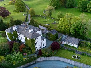 Luxury country house for up to 18 in the heart of Beatrix Potter's Lake District