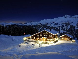 Ultimate 'Last Christmas' Chalet on the slopes of Klosters/Davos, sleeps 34!!!