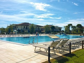 Casa con giardino privato e piscina per vacanze al mare