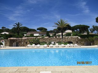Apartment In Exclusive St Tropez Development Near Pampelonne