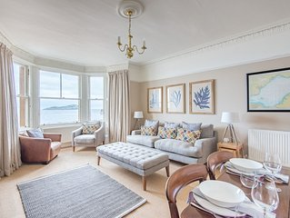 Vale End, stylish beach front flat
