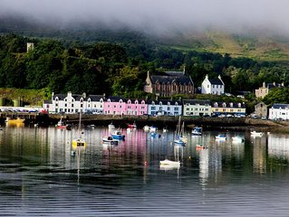 BEAUTIFUL TWO BEDROOM HOME LOCATED  IN PORTREE HARBOUR STEPS AWAY FROM THE SEA