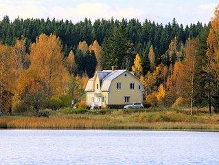 Groot authentiek en gerenoveerde villa aan idyllisch meer - nabij skigebied