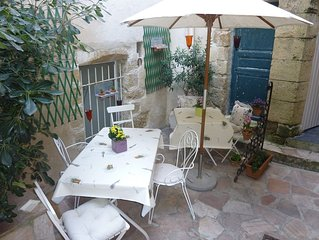 Charming 15th Century Village House with patio