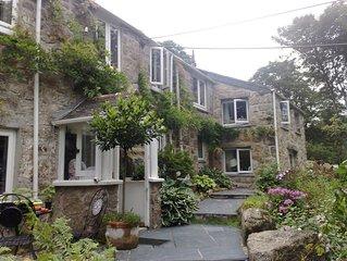 Grace's Studio at Lamorna Hideaway in the  heart of the idyllic Lamorna Valley