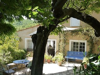 Country House With Ancient Terraced Garden In Bargemon, Var, Provence, France