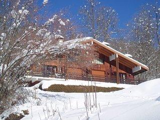 appartement de plein pied-  4 pers.- décoration soignée- garage - local skis. .