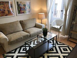 Apartamento chic en el centro de Madrid. Exterior.