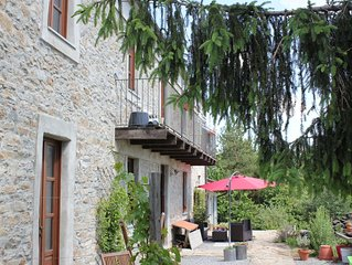Apartment in the Langhe hills, not far from Alba, with stunning views