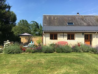 Detached holiday home in the Normandy countryside