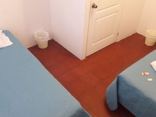 Dormitorio # 2, 2 camas imperial con Wifi