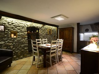 Beautiful, Historic, Large Private House In Heart of Central Aosta