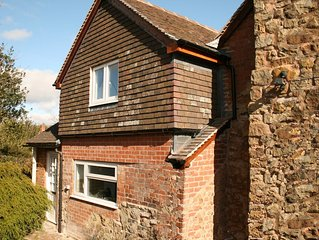 A Traditional Detached Cottage set in a country lane in the hills near Ludlow