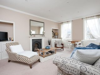 Classic Georgian flat offers luxurious and spacious accommodation