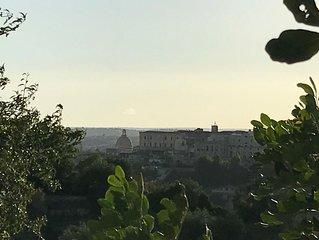 Casa degli Ulivi- casa indipendente vista mare, vista Noto -  Riserva Vendicari