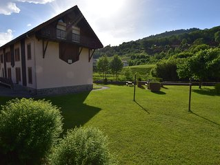Apartment in La Bresse with Ski Storage,Garden, Terrace, BBQ