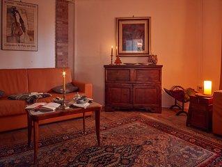 Oasi di pace alle porte di Perugia, appart. Rustico in villa con parco e piscina