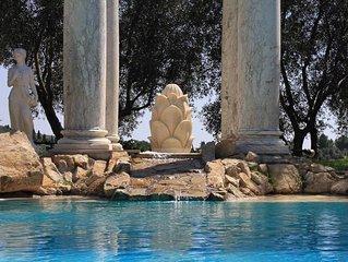 'I Ruderi', ville di charme. Villa Etrusca.