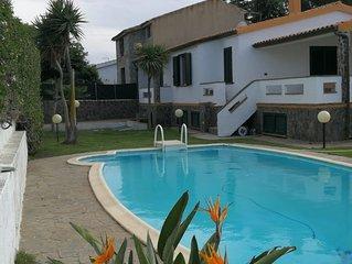 Villa con piscina a Calasetta