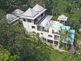 Baancoco House Luxueuse maison de vacances vue sur mer - 2 piscines