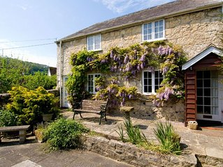 Sunbeam Cottage nestling in the heart of Branscombe village with a parking space