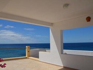 Ile de Maio, archipel du Cap vert belle villa individuelle, terrasses vue  océan